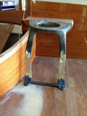 Winch pedestal 4